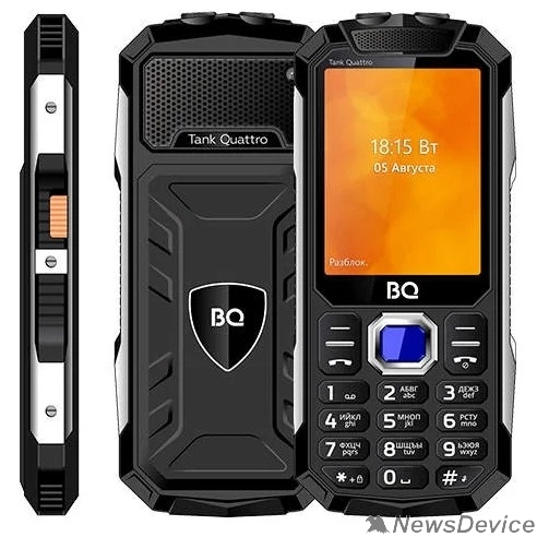 Мобильный телефон BQ 2819 Tank Quattro Black