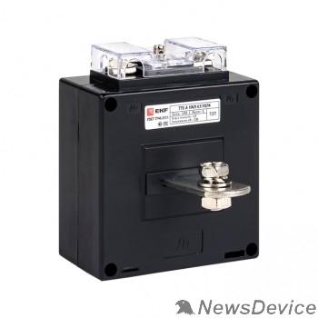 EKF Трансформаторы тока EKF tte-a-100-0.5S Трансформатор тока ТТЕ-А-100/5А класс точности 0,5S EKF PROxima