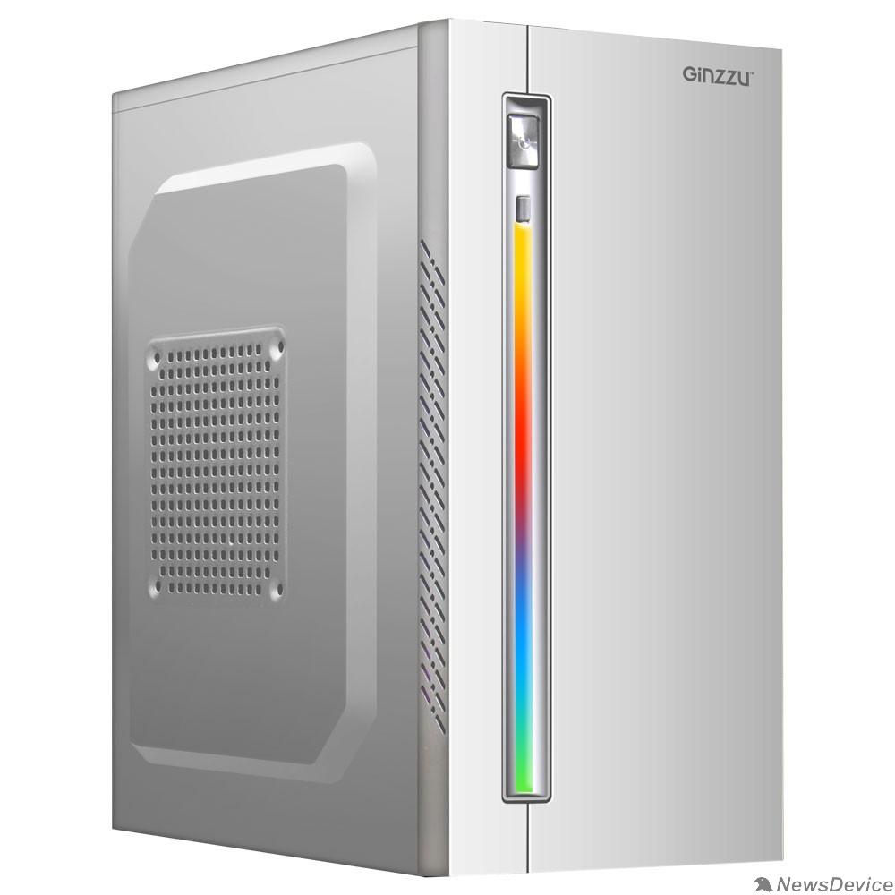 корпус Ginzzu D380 RGB White w/o PSU