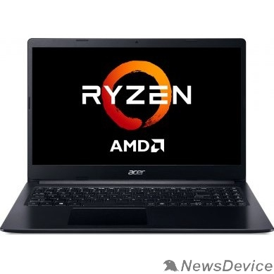 """Ноутбук Acer Extensa 15 EX215-22-R5NC NX.EG9ER.00Q Black 15.6"""" FHD Ryzen 3 3250U/4Gb/256Gb SSD/W10"""