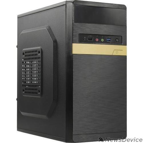 Корпуса Exegate EX286839RUS Корпус Minitower ExeGate BAA-105U-400W-8 (mATX, AAA400 с вент. 8см, 1*USB+1*USB3.0, HD аудио, черный)