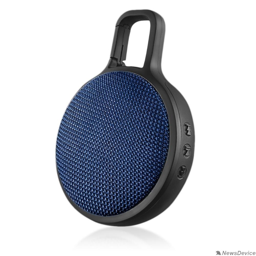 "Колонки Perfeo Bluetooth-колонка ""CIRCLE"" синяя PF_B4191"