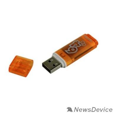 Носитель информации Smartbuy USB Drive 64Gb Glossy series Orange SB64GBGS-Or
