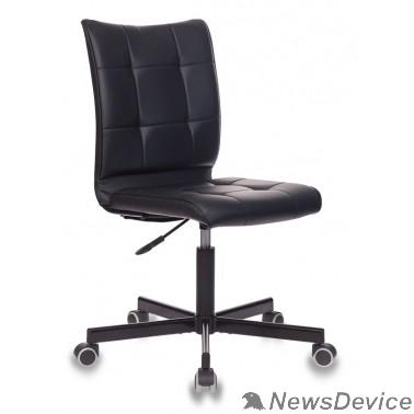 Офисное кресло или стул Бюрократ CH-330M черный Leather Black искусственная кожа крестовина металл черный (1125861 )