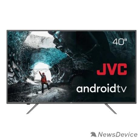 "Телевизор JVC LT-40М690 черный 40"" (102см) - Google Android TV, Android 9, FullHD, 1920x1080, Bluetooth, DVB-C, DVB-T, DVB-T2, Слот CI/CI+"