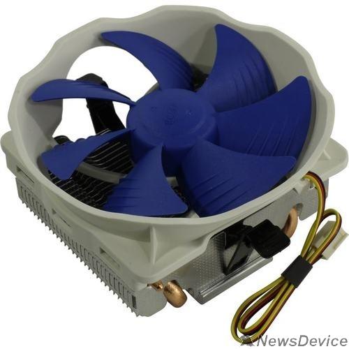 Вентиляторы PCCooler Кулер Q127 V2 S775/115X/AM2/AM3/AM4/FM1/FM2 (48 шт/кор, TDP 90W, вент-р 120мм, 4 тепловые трубки 6мм, 1800RPM, 22dBa) Retail Color Box