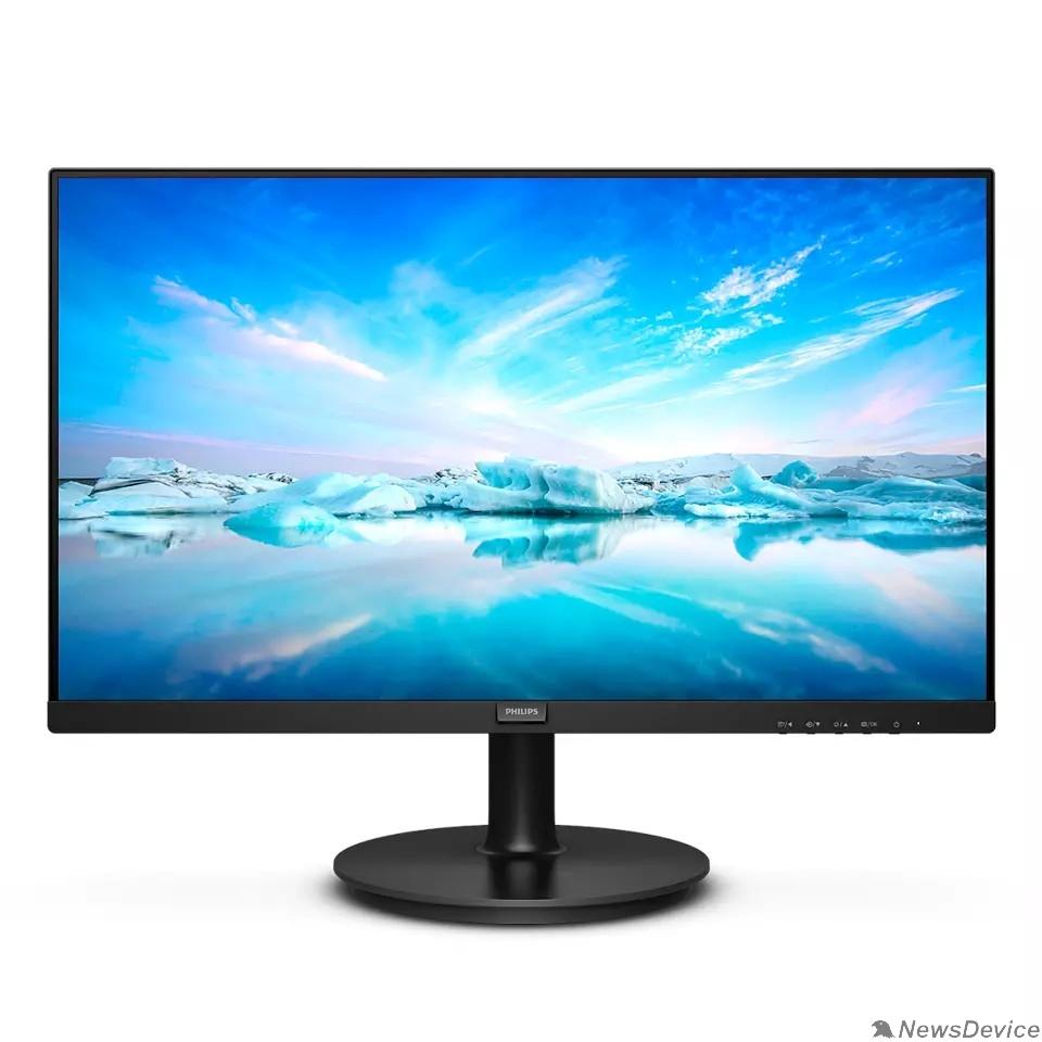 "Монитор LCD PHILIPS 23.8"" 241V8L (00/01) черный VA 1920x1080 75Hz 4ms 250cd 3000:1 8bit  178/178 D-Sub HDMI1.4 AdaptiveSync FlickerFree AudioOut VESA"
