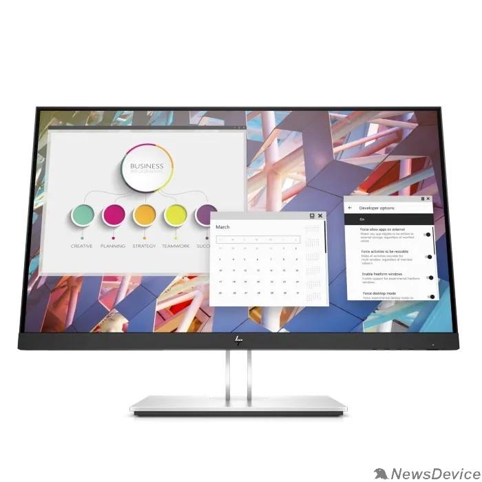 """Монитор LCD HP 27"""" E27 G4 черный IPS 1920x1080 16:9 1000:1 250cd  D-Sub HDMI DisplayPort 9VG71AA#ABB"""