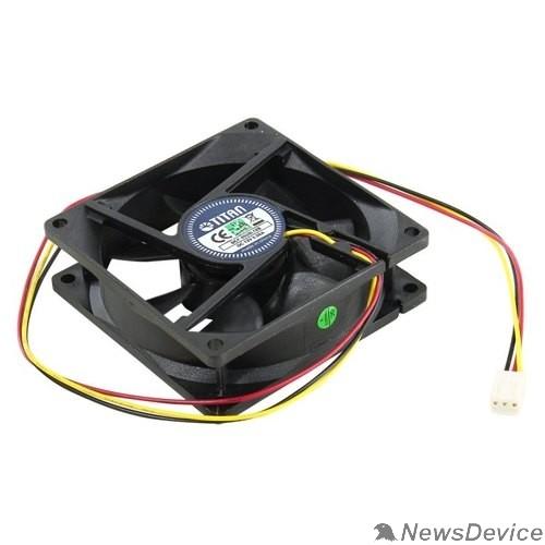 Вентилятор Вентилятор для корпуса TITAN <DCF-8025L12S> (80x80x25mm 3pin 23dB)