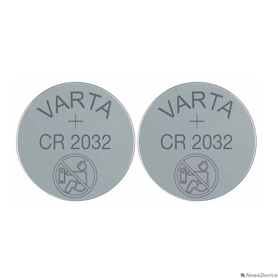 Батарейки VARTA CR2032/2BL (2 шт. в уп-ке)