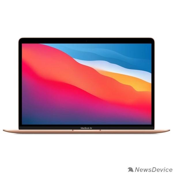 Ноутбук Apple MacBook Air 13 Late 2020 Z12A0008Q, Z12A/4 Gold 13.3'' Retina (2560x1600) M1 chip with 8-core CPU and 7-core GPU/16GB/256GB SSD (2020)