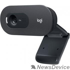 Цифровая камера 960-001372 Logitech HD WebCam C505e  USB 2.0, 1280*720, 2Mpix foto, Mic, Black