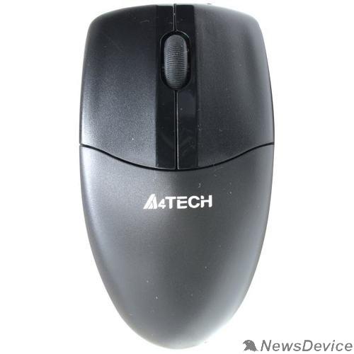 Мышь Мышь A4Tech V-Track G3-220N черный оптическая (1000dpi) беспроводная USB для ноутбука (3but)