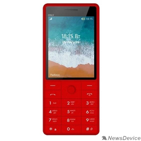 Мобильный телефон BQ 2815 Only Red
