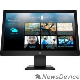 """Монитор LCD HP 18.5"""" P19b G4 черный TN 1366x768 16:9 200cd 600:1 5ms 90/65 D-Sub HDMI Tilt, Low Blue 9TY83AA#ABB"""