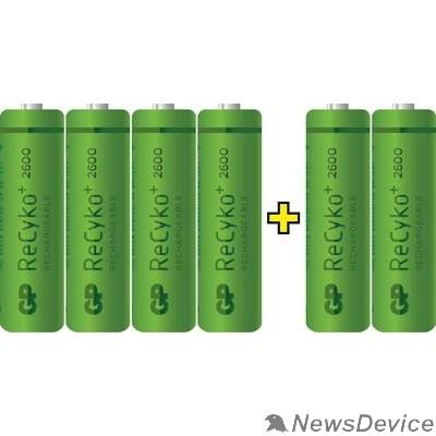 Аккумулятор GP 270AAHC4/2FR-2CR6 (4+2) (6 шт. в уп-ке)  аккумулятор