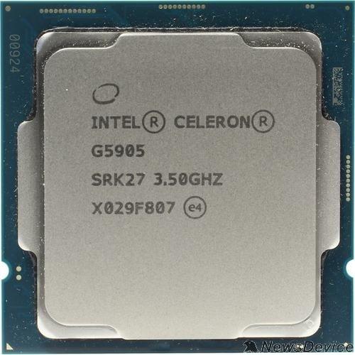 Процессор CPU Intel Celeron G5905 Comet Lake BOX