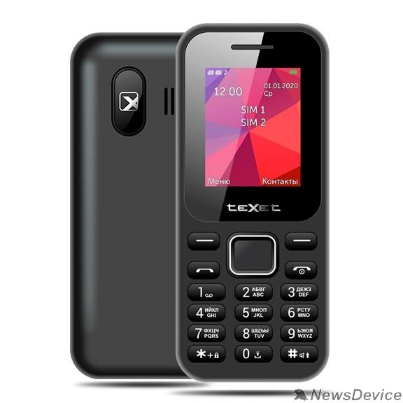 Мобильный телефон TEXET TM-122 мобильный телефон цвет черный