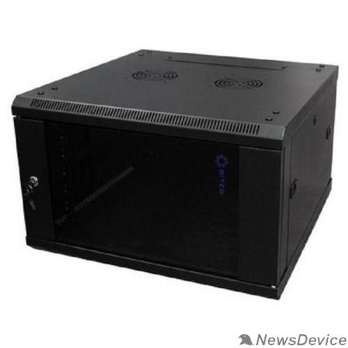Монтажный шкаф 5bites TC6601-06B Шкаф телекоммуникационный TC6601-06B 6U / 600*600 / WALL / BLACK