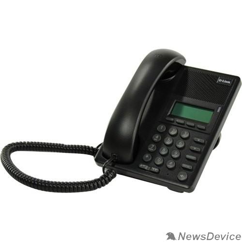 VoIP-телефон D-Link DPH-120SE/F1C IP-телефон с 1 WAN-портом 10/100Base-TX с поддержкой PoE и 1 LAN-портом 10/100Base-TX (от DPH-120SE/F1B и DPH-120SE/F1A отличается дизайном коробки)