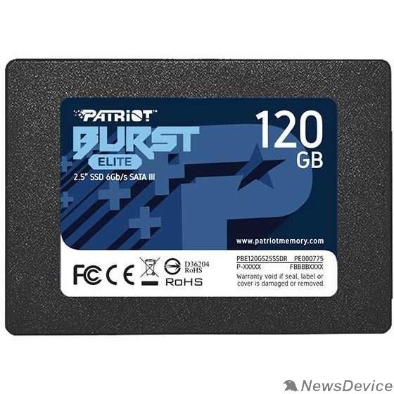 носитель информации Patriot SSD 120Gb Burst Elite PBE120GS25SSDR SATA 3.0