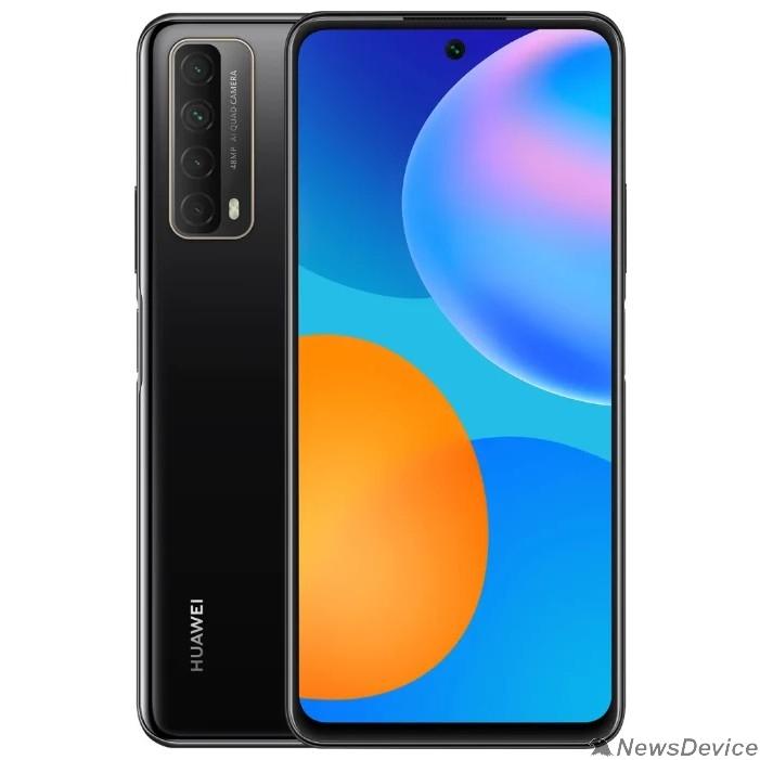 Мобильный телефон Huawei P smart (2021) Midnight Black 4/128Gb  51095YQC (205523)