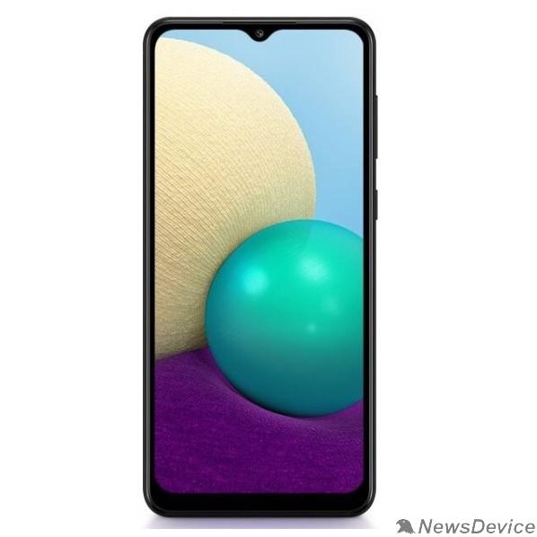 Мобильный телефон Samsung Galaxy A02 2/32GB (2021) SM-A022G black (чёрный) SM-A022GZKBSER