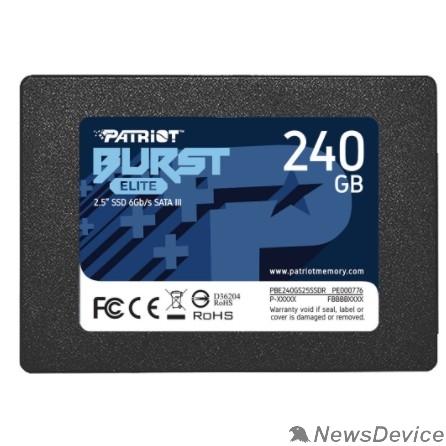 носитель информации Patriot SSD 240Gb Burst Elite PBE240GS25SSDR SATA 3.0