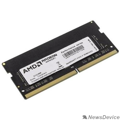 Модуль памяти AMD SO-DIMM DDR4 8Gb PC21300 2666MHz CL16 AMD 1.2V OEM (R748G2606S2S-UO)