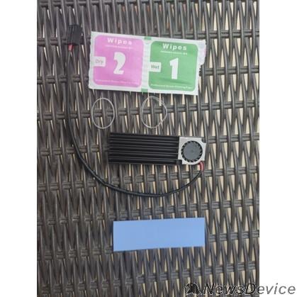 Компьютер Raspberry 45143 Устр-во охл. Радиатор для SSD NGFF 2280 алюм, Модель ESP-R4