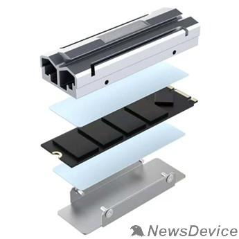 Компьютер Raspberry 45145 Устр-во охл. Радиатор для SSD NGFF 2280 алюм, Модель ESP-R6