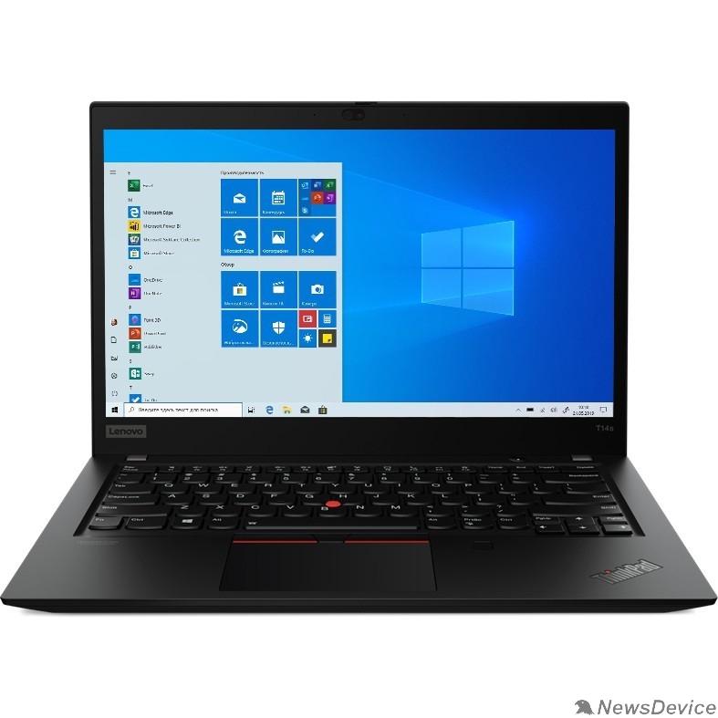 "Ноутбук Lenovo ThinkPad T14s G1 T 20T0001JRT Black 14"" FHD i5-10210U/8Gb/256Gb SSD/W10Pro"