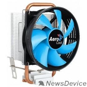 Вентилятор Устройство охлаждения(кулер) Aerocool Verkho 1-3P Soc-FM2+/AM2+/AM3+/AM4/1150/1151/1155 3-pin 28dB Al+Cu 100W 280gr Ret