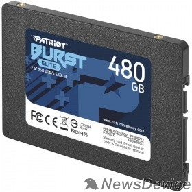 носитель информации Patriot SSD 480Gb Burst Elite PBE480GS25SSDR SATA 3.0