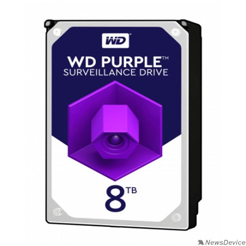 "Жесткий диск 8TB WD Purple (WD82PURX) Serial ATA III, 7200- rpm, 256Mb, 3.5"""