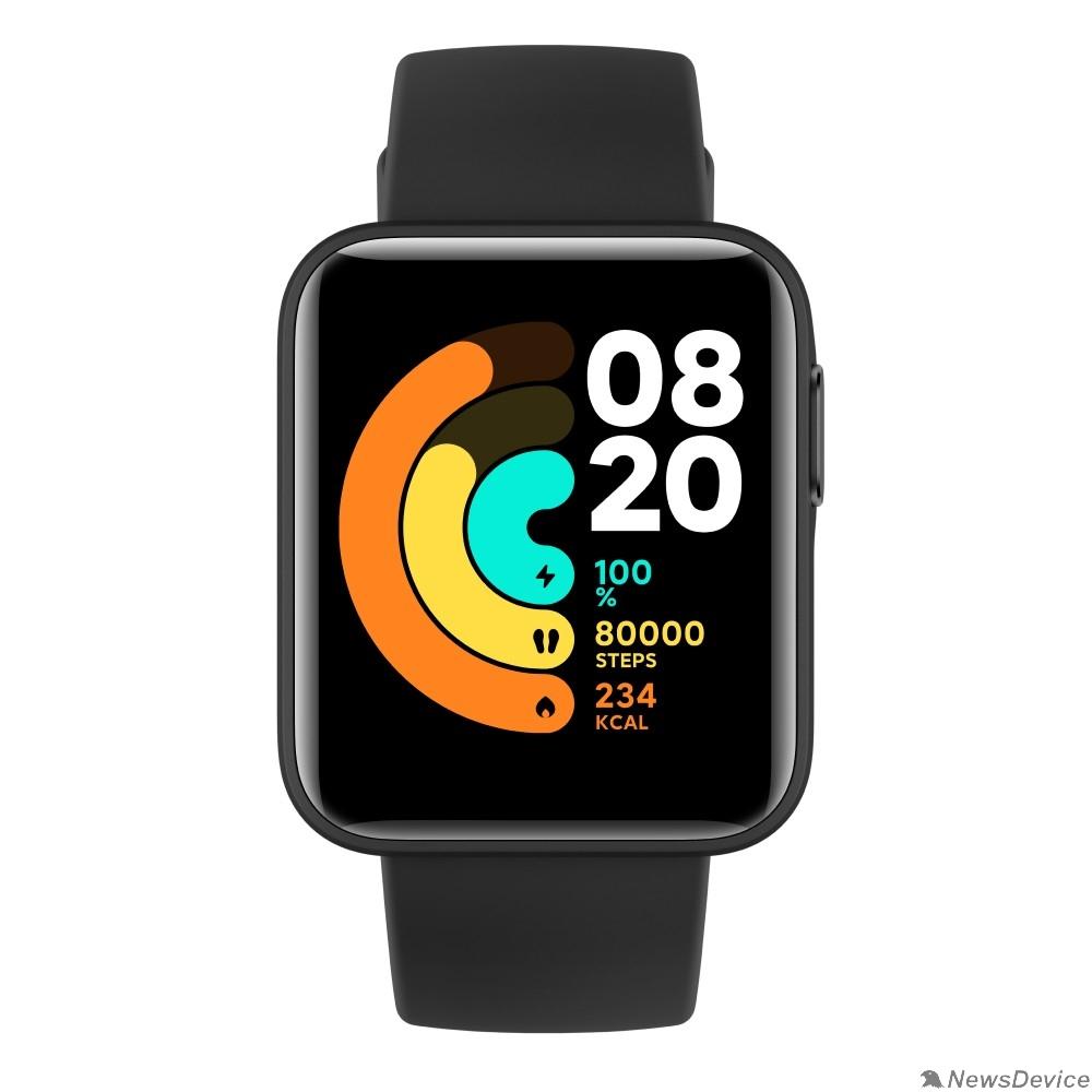 Умные часы Xiaomi Mi Watch Lite (RU) Black BHR4704RU