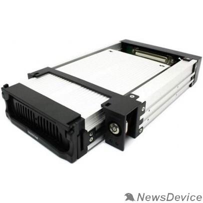 "Контейнер для HDD AgeStar SR1A-K-1F (BLACK) Mobile rack (салазки), 3,5"" SATA I/II/III, алюминий+пластик 18417"
