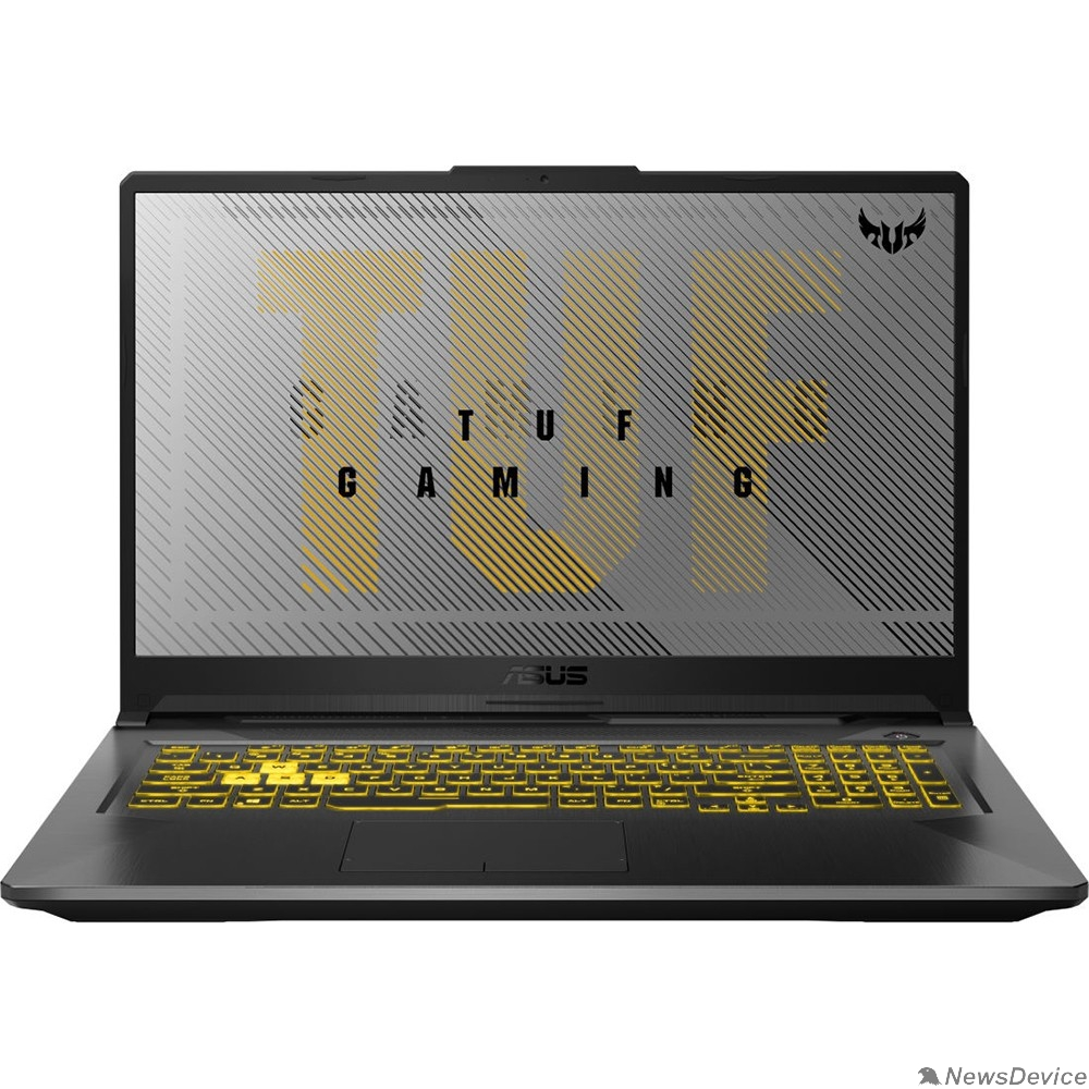"Ноутбук ASUS TUF Gaming FX706LI-H7041 90NR03S1-M02530  Fortress Grey 17.3"" FHD i5-10300H/8Gb/1Tb+256Gb SSD/GTX1650Ti 4Gb/DOS"