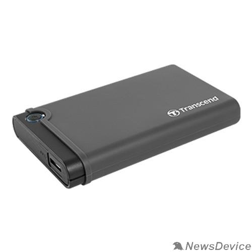 """накопитель Флеш-накопитель Transcend 0GB, Внешний корпус. Комплект для установки 2.5"""" SSD/HDD. В комплект входят внешний прорезиненный корпус для 2,5"""" накопителей, внутренний амортизатор, адаптер SATA TS0GSJ25"""