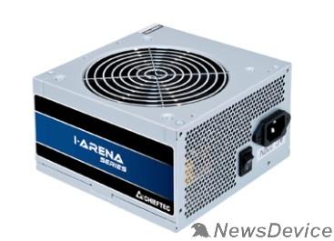 Блок питания Блок питания Chieftec GPB-500S Блок питания 500W PSU i-Arena ATX-12V V.2.3, 12cm fan, Active PFC, Efficiency 80% OEM