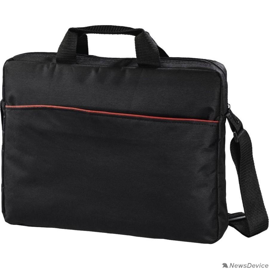 """Сумка для ноутбука Hama Tortuga Сумка для ноутбука 17.3"""" черный полиэстер (00101240/00101741)"""