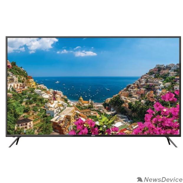 """Телевизор BBK 55"""" 55LEX-8174/UTS2C черный Ultra HD/50Hz/DVB-T2/DVB-C/DVB-S2/USB/WiFi/Smart TV (RUS)"""