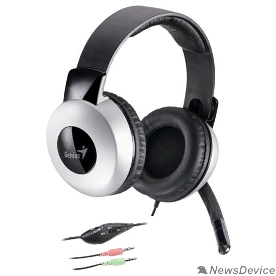 Наушники Genius Headset HS-05A, Stereo, mini jack 3.5mm