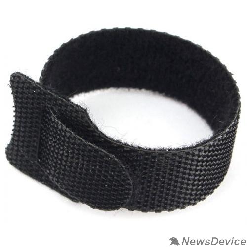 Аксессуар Cablexpert Хомуты-липучки на основе ленты Velcro® VT-145x11BK  145 x 11 мм, черные (12 шт.)