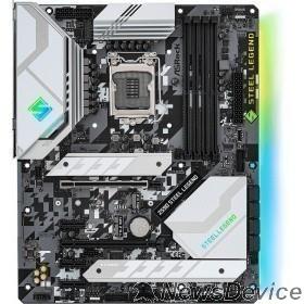 Материнская плата Asrock Z590 STEEL LEGEND Soc-1200 Intel Z590 4xDDR4 ATX AC`97 8ch(7.1) 2.5Gg RAID+HDMI