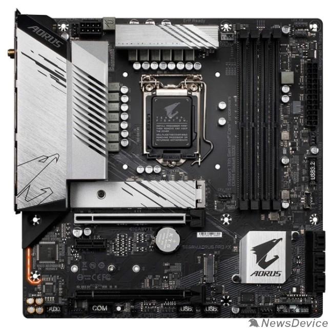 Материнская плата Gigabyte B560M AORUS PRO AX RTL  LGA 1200, Intel B560, mATX