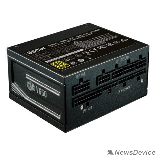 Блок питания V650  MPY-6501-SFHAGV-EU SFX Gold 650W A/EU Cable, RTL 5