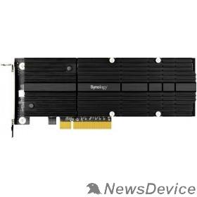 Дисковый массив Synology M2D20 Сетевое хранилище M.2 SSD-NVME adapter,PCIe 3.0x8, M.2 22110/2080