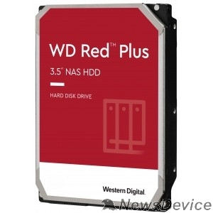 "Жесткий диск 10TB WD Red Plus (WD101EFBX) Serial ATA III, 7200- rpm, 256Mb, 3.5"", NAS Edition"