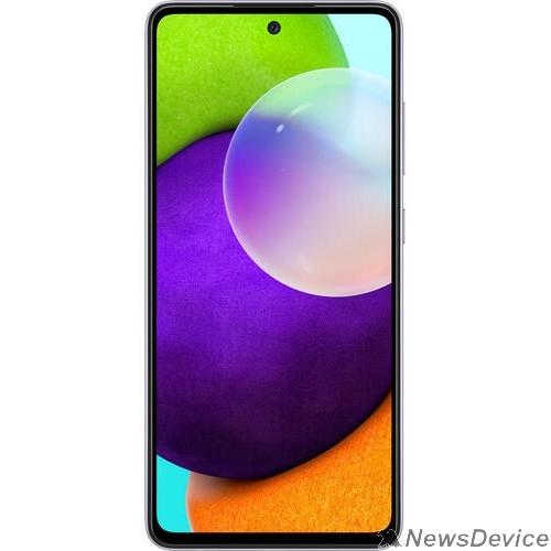 Мобильный телефон Samsung Galaxy A52 (2021) 8/256Gb SM-A525F лаванда моноблок SM-A525FLVISER